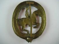 знак наездника в бронзе